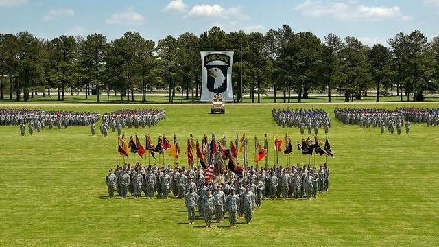 The Army's 101st Airborne Division, based at Fort Campbell, Kentucky, will provide about 700 of the 1,400 troops expected to head to Liberia in October. (Fort Campbell)