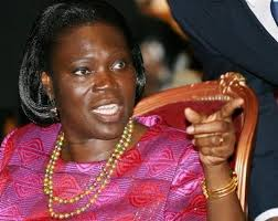Former Ivorian First Lady Simone Gbagbo