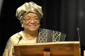 Liberian President Sirleef Johnson, her country has historic bonds with the US