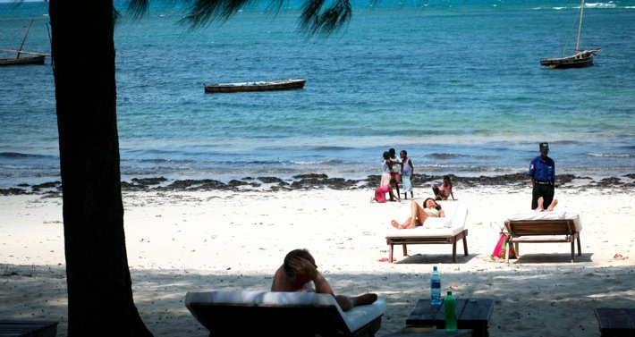 Security fears have kept visitors away from Malindi's pure white beaches. Photo©Andrew Njoroge for TAR