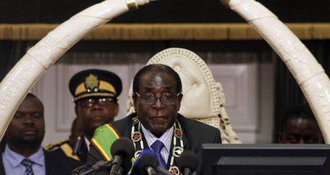 ZIMBABWE'S PRESIDENT ROBERT MUGABE. PHOTO©REUTERS