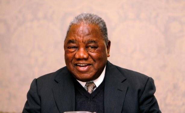 Photo: Boston University Zambian former president Rupiah Banda.