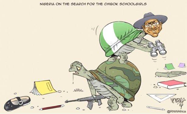 Photo: Victor Ndula/RNW Nigeria on the search for the Chibok schoolgirls (file photo)