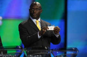 Football legend George Weah says he is running for senator in his native Liberia (AFP Photo/Valery Hache)
