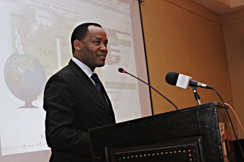 The Minister of Natural Resources and Tourism of The United Republic of Tanzania, Hon. Lazaro Nyalandu