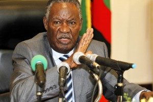 Zambian President Michael Sata came to power after winning the 2011 election on a promise to tackle corruption, lower taxes and create jobs (AFP Photo/Joseph Mwenda)