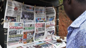 News of the government supposedly sealing a truce with Boko Haram made the front pages