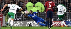 Enyeama went 1,062 minutes without conceding last season, keeping 11 consecutive clean sheets
