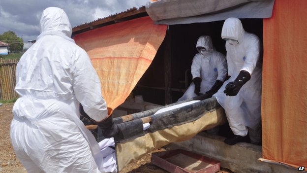 The World Health Organization says that at least one in five infections occur during the burials of Ebola victims - it issued a guide this week to how best to conduct funerals