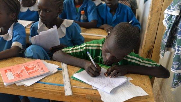 School have also been established for displaced children