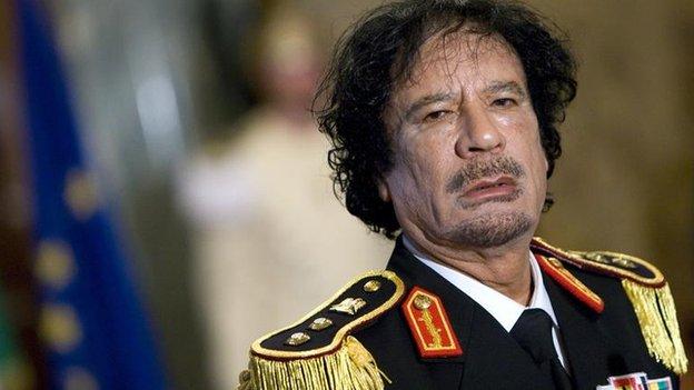 Col Gaddafi oversaw a brutal regime