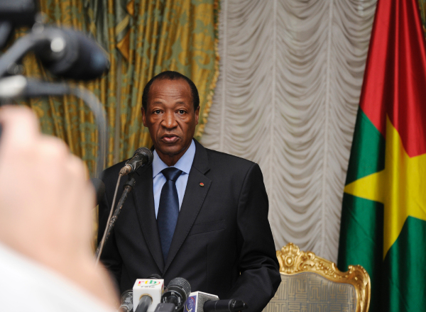 From Yamoussoukro where he has taken refuge, Blaise Compaore says he had to resign in the superior interest of his country and to avoid a bloodbath