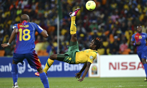 African Cup of Nations. '54 nations play multiple round robin and knockout stage games to compete for the final 16 places.' Photograph: Francisco Leong/AFP/Getty Images