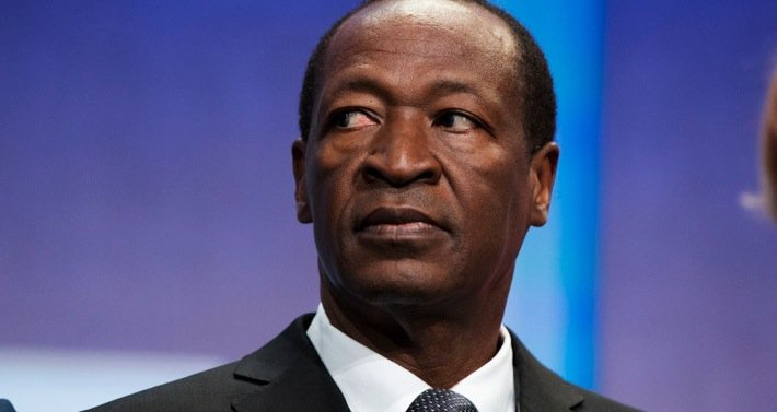 Burkina Faso President, Blaise Campaore finally says adieu but not without a last word. Photo©Reuters
