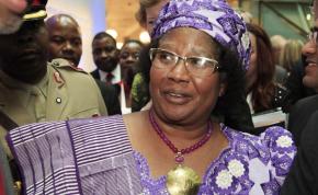 Photo: Marisol Grandon/DFID Former President of Malawi Joyce Banda.
