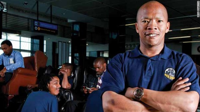 Mgayiya can afford to smile now that has business is seeing success, but he has known failure in the past when he was fired from South African Airways and then lost his investment in a tree-planting company.