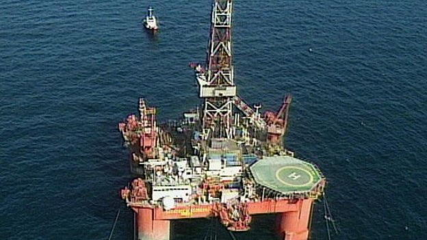 Oil rigs exploring for reserves offshore could soon be a familiar site off the coast of Somalia