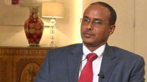 Somalia's Petroleum Minister Daud Mohamed Omar is confident of winning a territorial dispute with Kenya