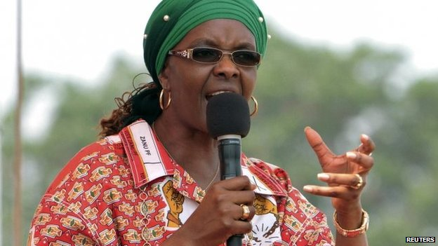 Grace Mugabe was vocal about those she regarded as opponents at her rallies