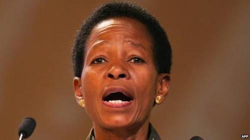 Former Land And Housing Minister Anna Tibaijuka AFP