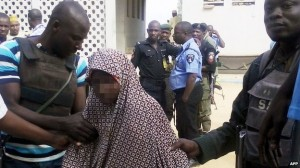 Police said the girl's story made it clear who was to blame for the attacks in Kano