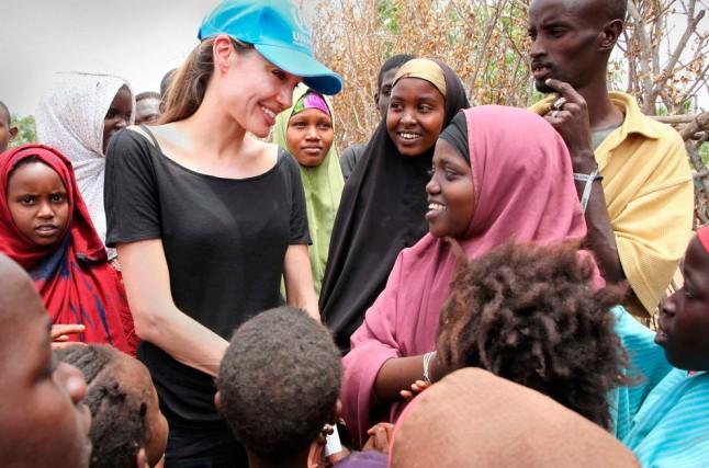 Angelina Jolie in Kenya, 2009
