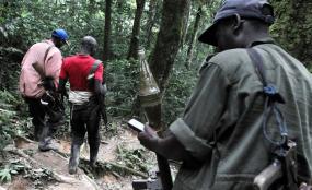 Photo: Radio Okapi Rwandan FDLR rebels (file photo).