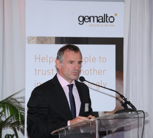 Eric Claudel, President of Africa & Middle East for Gemalto
