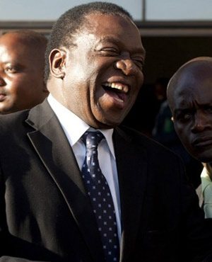 Emmerson Mnangagwa. (File: AFP)