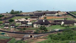 Mr Malema has condemned President Jacob Zuma's controversial homestead