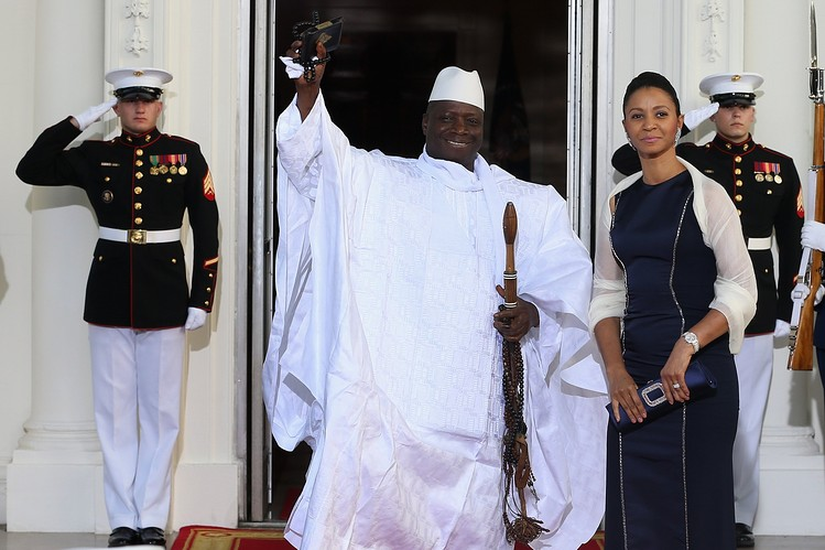 Gambian President Yaya Jammeh