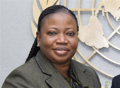 "Photo: UN Photo/Rick Bajornas ICC Prosecutor Fatou Bensouda: ""the list of atrocities is endless"""