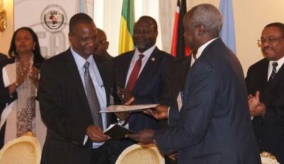 South Sudan Parties Sign Implementation Matrix of Cessation of Hostilities Agreement (Photo: IGAD).
