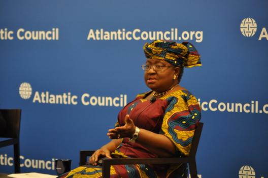 H.E. Ngozi Okonjo-Iweala at the Atlantic Council in October 2014.