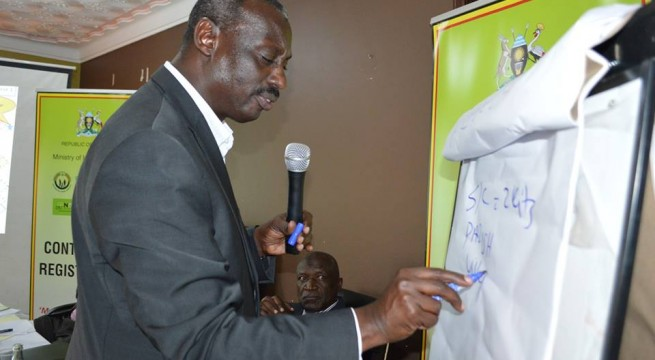 Minister Aronda launched the exercise on Friday
