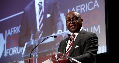 Donald Kaberuka, head of African Development Bank, AfDB.