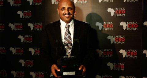CEO of Ethiopian Airlines, Tewolde Gebremariam