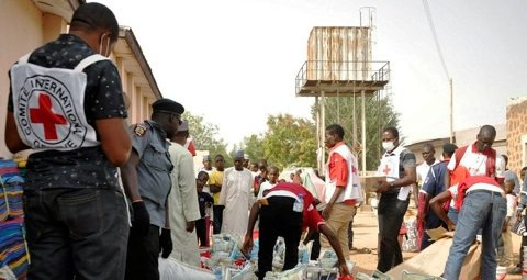 Nigerian Red Cross say one of the first things they do when a town falls back into government hands is to clear corpses. File Photo©Reuters