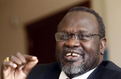 South Sudan's rebel leader Riek Machar (Photo Reuters/Tiksa Negeri)