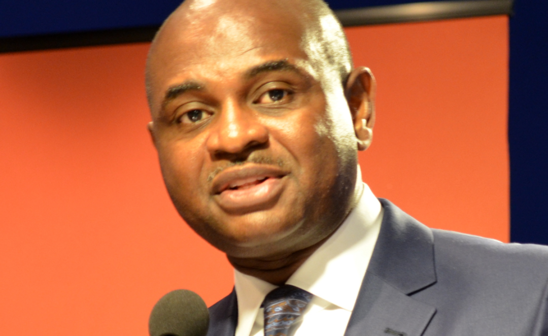 Kingsley Chiedu Moghalu, Founder and Chief Executive Officer of Sogato Strategies LLC and former Deputy Governor of the Central Bank of Nigeria