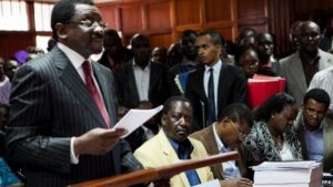 Opposition lawyer James Orengo told the court the law undermined civil liberties