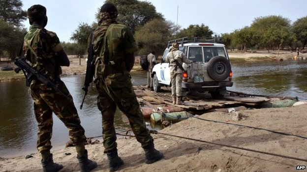 Chadian forces have beefed up their presence around Lake Chad, on the border with Nigeria