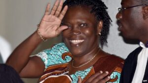 Ms Gbagbo is facing charges of undermining state security