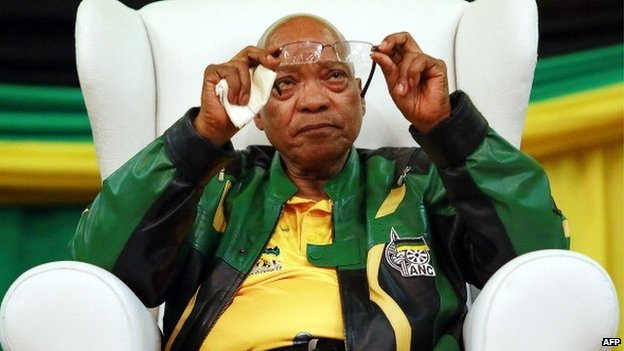 President Jacob Zuma's government is investigating the security breach