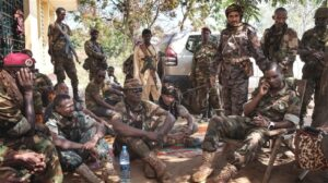 Photo: Marcus Bleasdale/VII Armed fighters of the supposedly disbanded Seleka alliance still control large swathes of the country