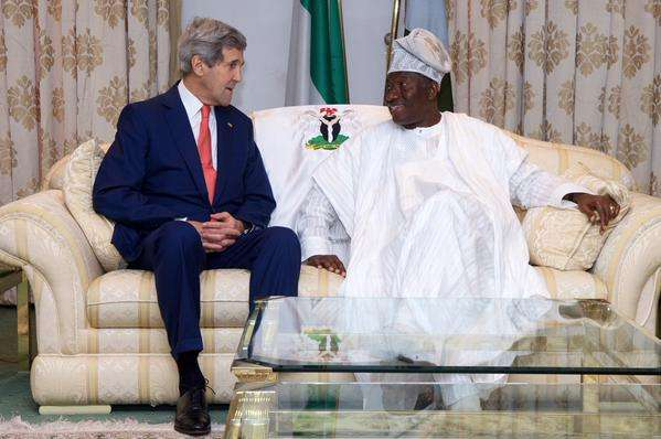 US Secretary of State, John Kerry visits Nigeria