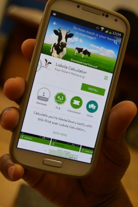 Try this Lobola Calculator to see how many cows you are worth