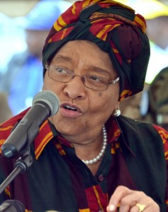 The White House said that Johnson Sirleaf -- a rare female African leader who came to power in 2006 amid a wave of optimism -- will meet US President Barack Obama at the White House to discuss Ebola response and the grueling task of economic recovery (AFP Photo/Zoom Dosso)