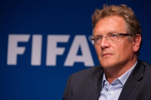 The 2023 Africa Cup of Nations will move from January to June because of plans to switch the 2022 World Cup dates, FIFA secretary general Jerome Valcke says (AFP Photo/Sebastien Bozon)