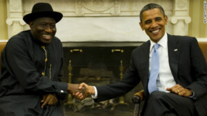 President Obama Meets With President Jonathan In US